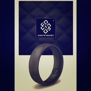 Knot Theory Silicone Ring